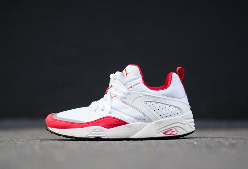 Puma Blaze of Glory White/High Risk Red /materiały prasowe