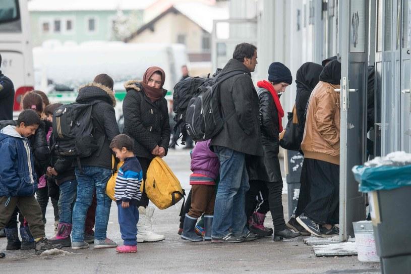 Punkt rejestracji uchodźców w Passau (Niemcy) /AFP