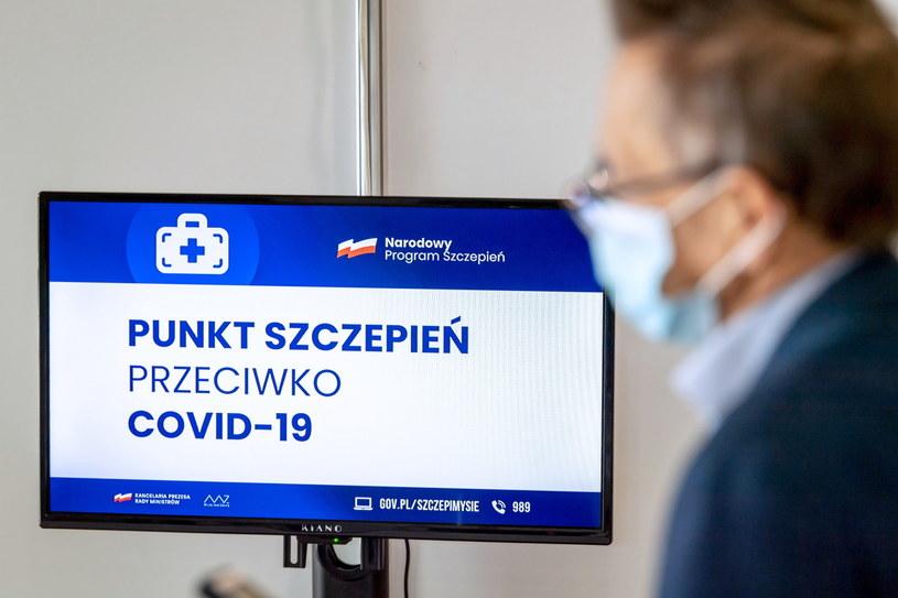 Punkt szczepień powszechnych w Bydgoszczy /PAP/Tytus Żmijewski /PAP