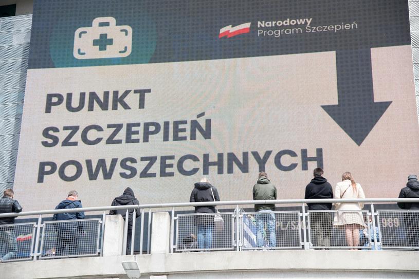 Punkt szczepień w Gdańsku, zdjęcie ilustracyjne /Wojciech Stróżyk /Reporter