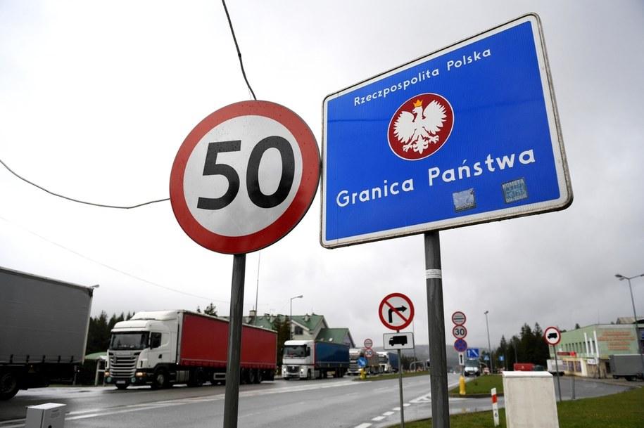 Punkt tymczasowej kontroli granicznej na dawnym polsko-słowackim przejściu granicznym w Barwinku/ Zdjęcie ilustracyjne /Darek Delmanowicz /PAP