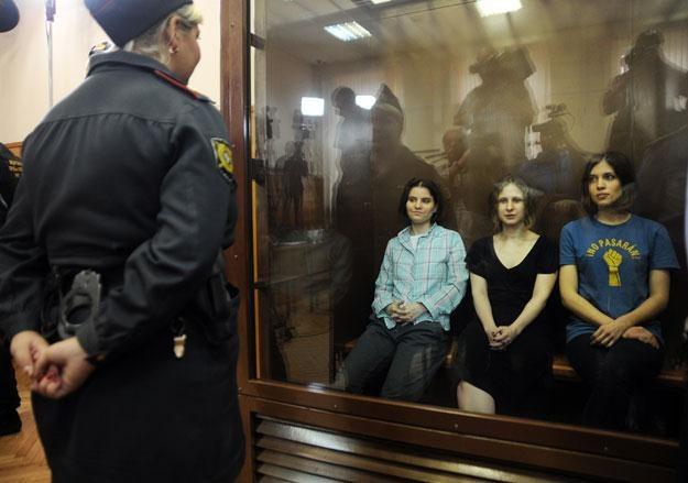 """Pussy Riot: """"Chuligaństwo motywowane nienawiścią religijną""""? /arch. AFP"""