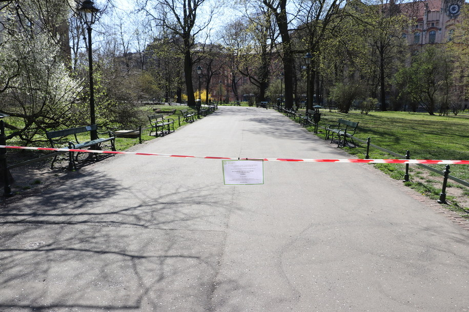Puste Planty w kwietniu 2020 roku /Jacek Skóra, RMF FM