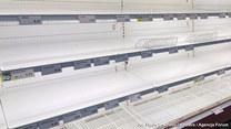 Puste półki sklepowe we Włoszech! Wszystko przez koronawirusa