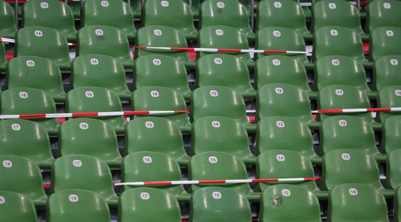 Puste trybuny przed meczem Werder Brema -  TSG Hoffenheim 1899 /PAP/EPA