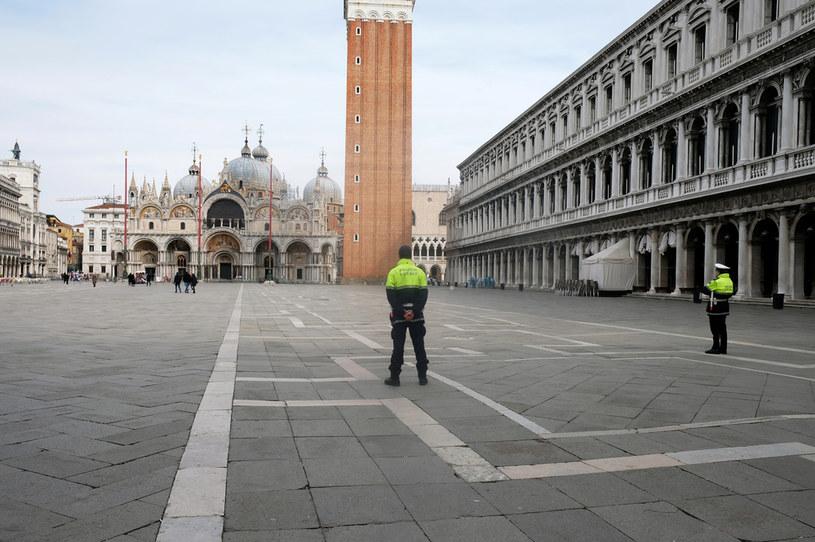 Pustki w Wenecji z powodu koronawirusa /Agencja FORUM