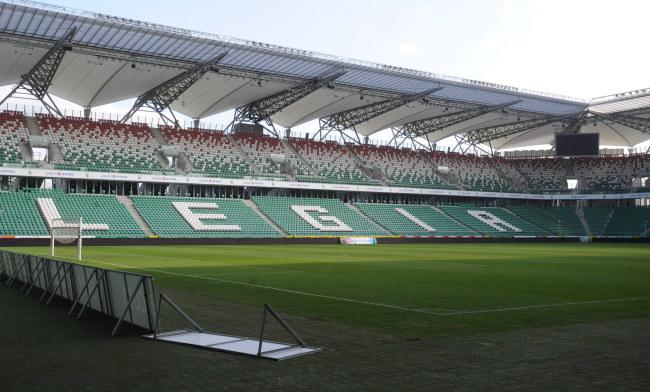 Pusty stadion Legii Warszawa /Bartłomiej Zborowski /PAP