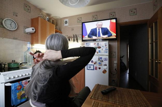 Putin: dni wolne od pracy do końca kwietnia /ANATOLY MALTSEV  /PAP/EPA