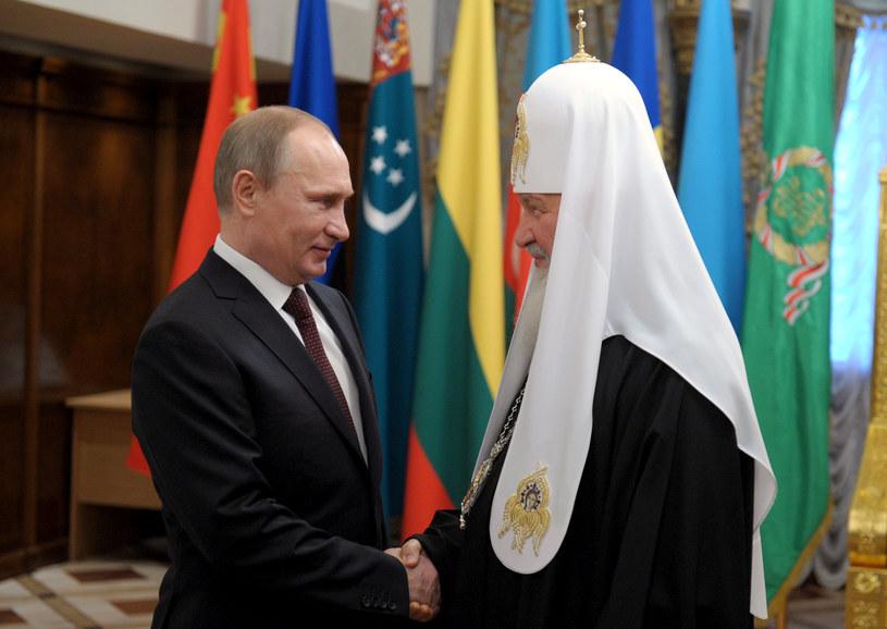 Putin i patriarcha Cyryl /AFP