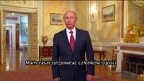 Putin mówi po angielsku! Film robi furorę!