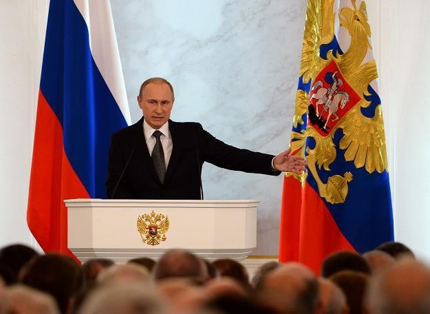 Putin oskarża Zachód o agresję gospodarczą /AFP
