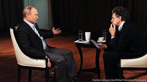 Putin ostrzega przed efektami sankcji UE wobec Rosji dla Niemiec /Deutsche Welle