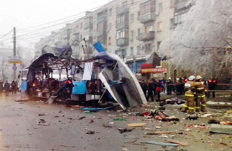 Putin potępił zamachy w Wołgogradzie /AFP