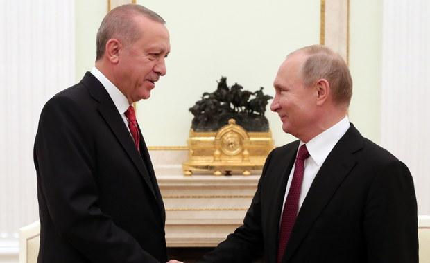 Putin: Rosja i Turcja aktywnie współpracują w kwestii Syrii