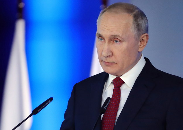 Putin: Rosja ma obowiązek bronienia prawdy o zwycięstwie nad nazizmem /ALEXEY NIKOLSKY / SPUTNIK / KREMLIN POOL /PAP/EPA