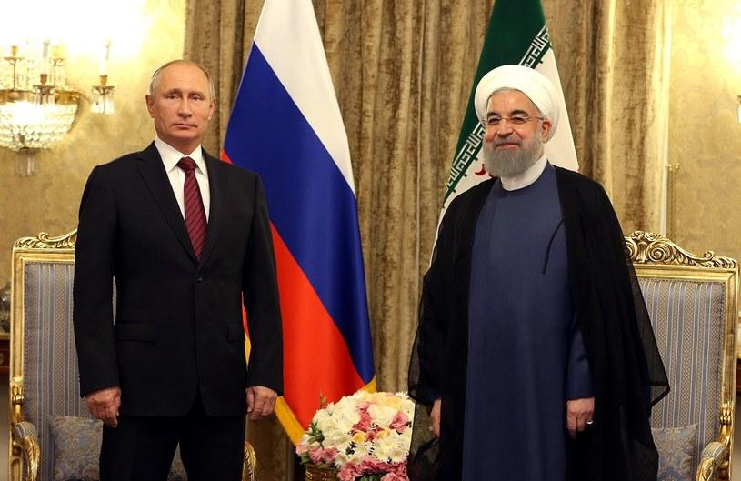 Putin rozpoczął wizytę w Iranie /IRANIAN PRESIDENTIAL WEBSITE /PAP/EPA