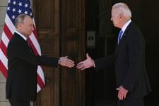 Putin spotkał się z Bidenem. Zdradził, jak przebiegły rozmowy