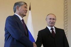 Putin spotkał się z prezydentem Kirgistanu