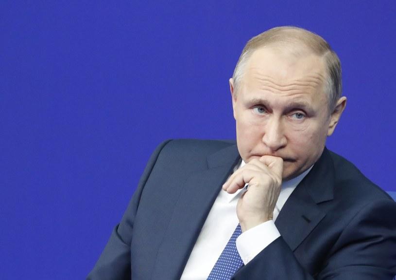 Putin stwierdził, że Moskwa powstrzyma się od poważnych kroków w związku z publikacja listy /SERGEI CHIRIKOV /PAP/EPA