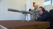Putin testuje karabin snajperski Kałasznikowa