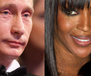 Putin udzielił wywiadu Naomi Campbell