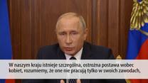 Putin wygłosił orędzie w sprawie reformy emerytalnej