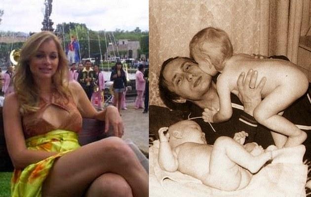 Putin z małymi córkami i dorosła już Maria /- /East News