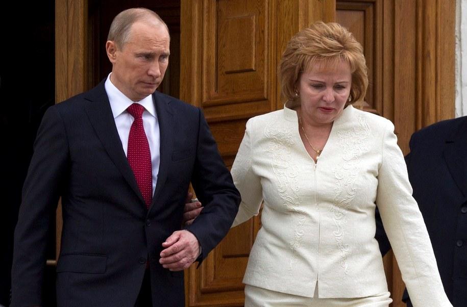 Putin z żoną coraz rzadziej pokazywali się wspólnie /ALEXANDER ZEMLIANICHENKO/POOL    /PAP/EPA
