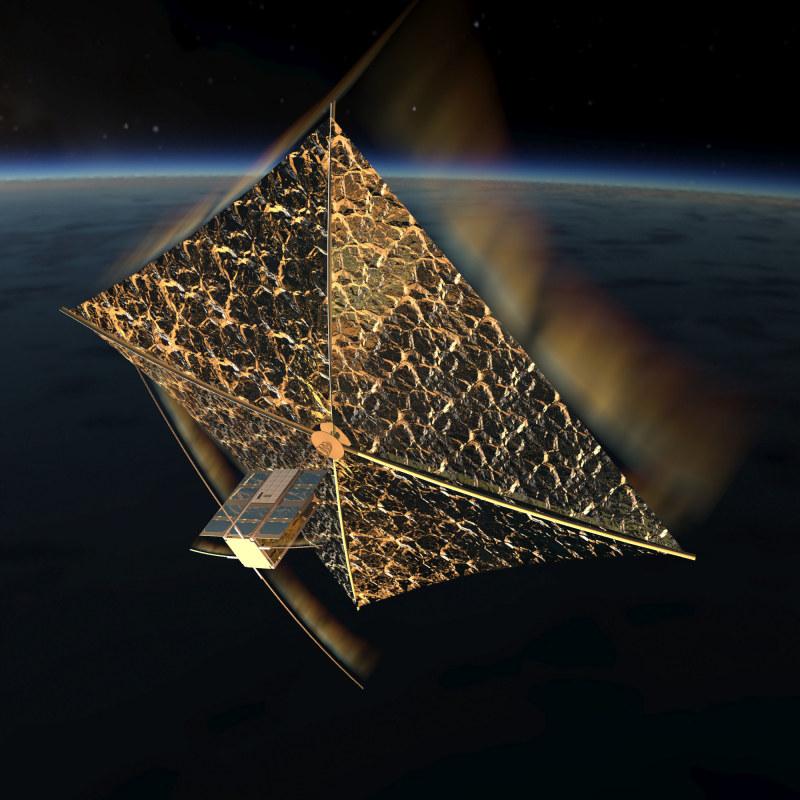 PW-Sat2 spalający się w atmosferze podczas deorbitacji. Autor- Marcin Świetlik /materiały prasowe