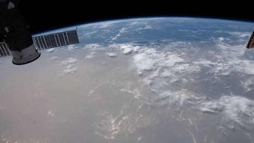 Pył znad Sahary nad Atlantykiem /materiały prasowe