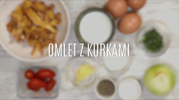 Pyszny I Tani Omlet Z Kurkami Gotowanie W Interia Tv