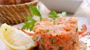 Pyszny tatar z łososia