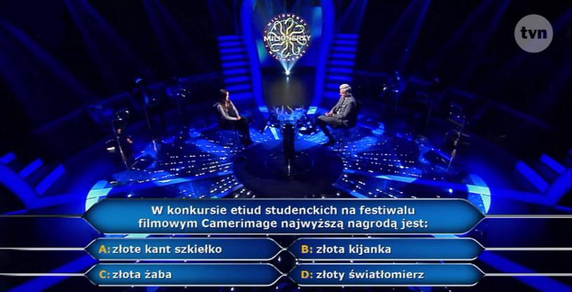 Pytanie o Camerimage - znalibyście odpowiedź? /TVN