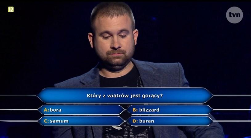 Pytanie za 125 tys. złotych /TVN