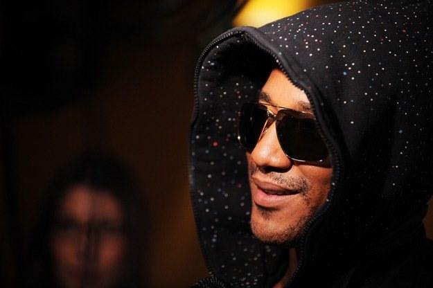 Q-Tip współpracuje z inną gwiazdą Coke Live - Kanye Westem (fot. Bryan Bedder) /Getty Images/Flash Press Media