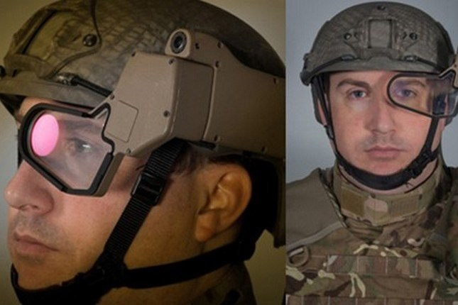 Q-Warrior - ozszerzona rzeczywistość w armii. /materiały prasowe