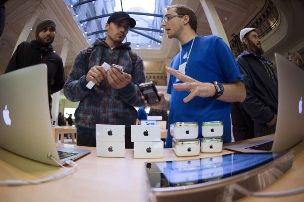Q1 2014 był dla Apple wyjątkowo udany /AFP