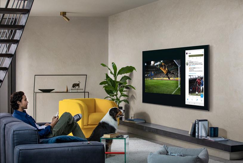 QLED 8K Q950T to swoiste centrum domowej rozrywki /materiały promocyjne