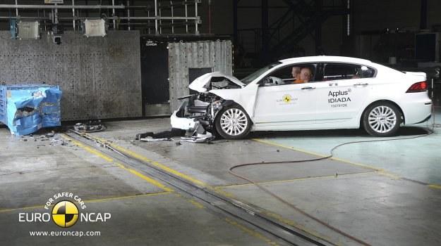 Qoros 3 Sedan w teście zderzeniowym Euro NCAP /Euro NCAP