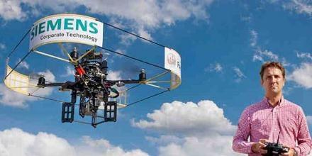 Quadricopter  Siemens /materiały prasowe