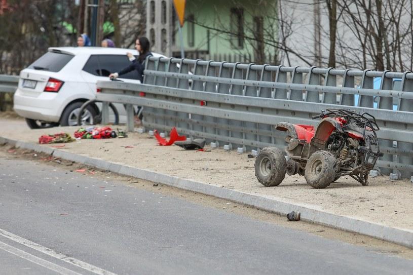 Quady to śmiertelnie niebezpieczna zabawka /Michał Adamowski /Reporter