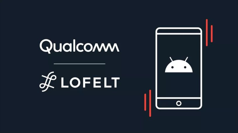 Qualcomm chce ulepszyć haptykę w smartfonach /materiały prasowe