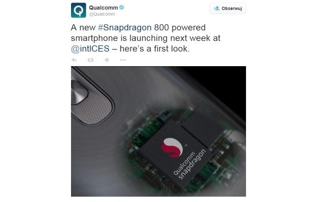 Qualcomm zapowiada nowego smartfona LG /materiały prasowe
