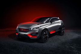 Quatrz - tak będą wyglądać nowe crossovery Peugeota?