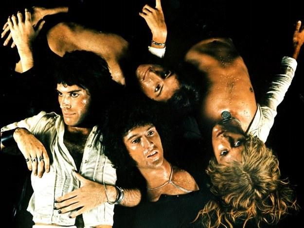 Queen w połowie lat 70. pracowali w pocie czoła /