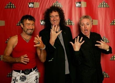 Queen z wokalistą Paulem Rodgersem - fot. Frank Micelotta /Getty Images/Flash Press Media