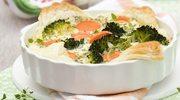 Quiche z brokułami i marchewką