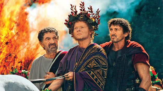 """""""Quo Vadis"""": Imperium Rzymskim rządzi despotyczny Neron (Michal Bajor), bezwzględny prześladowca pierwszych chrześcijan /Tele Tydzień"""