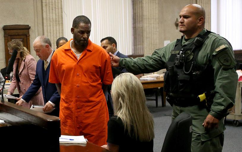 R. Kelly podczas jedenej z rozpraw sądowych w 2019 roku /Antonio Perez /Getty Images
