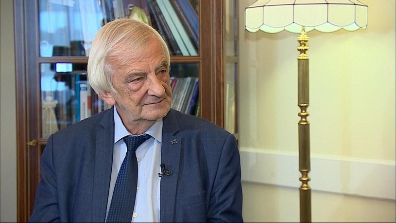 R. Terlecki: wyjście z UE to wariactwo /Polsat News /Polsat News